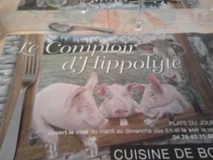 Le comptoir d'Hippolyte
